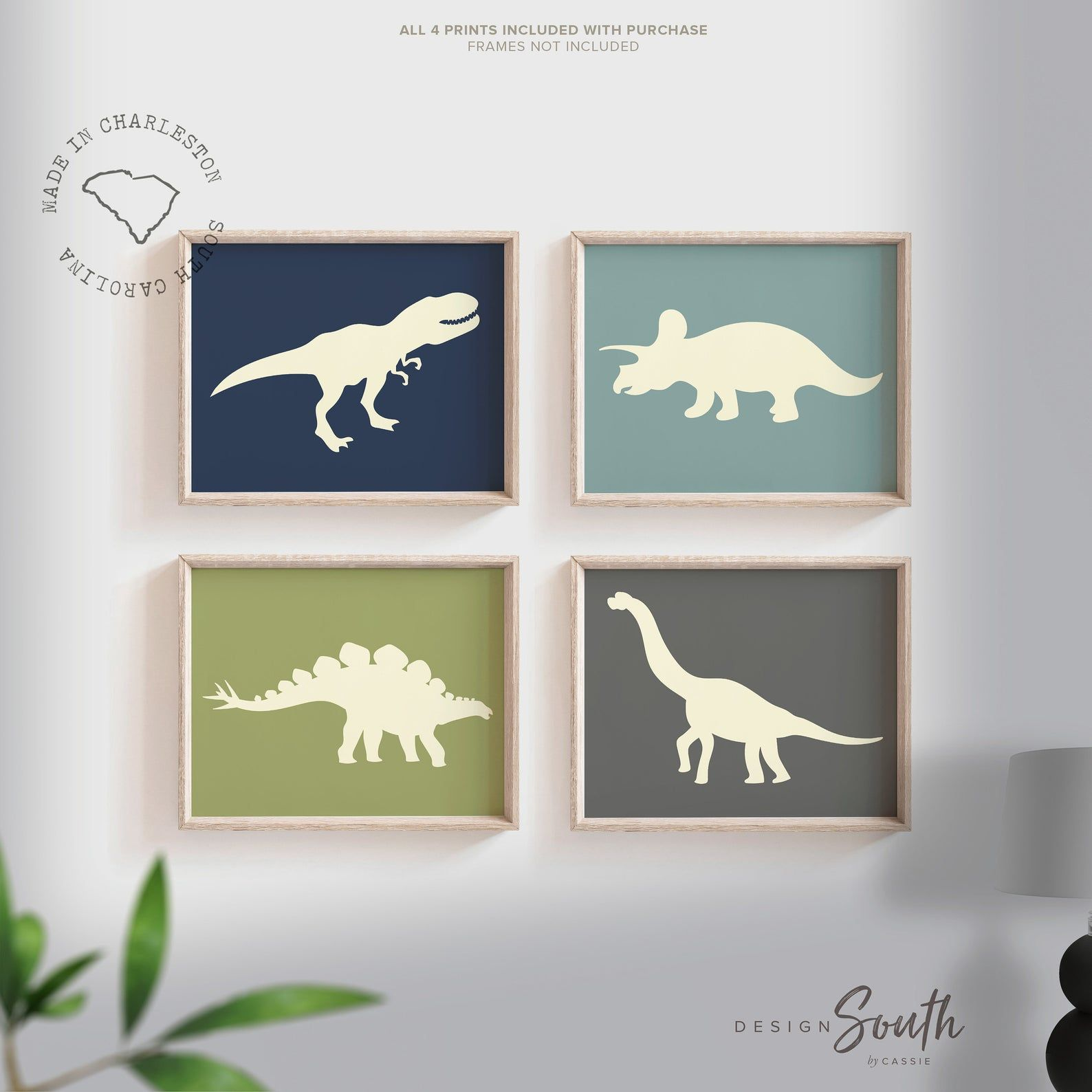 Boys dinosaur bedroom wall art, dinosaur decor for boys, boys dinosaur theme, dinosaur prints, baby boy dinosaurs, dinosaur nursery art boys