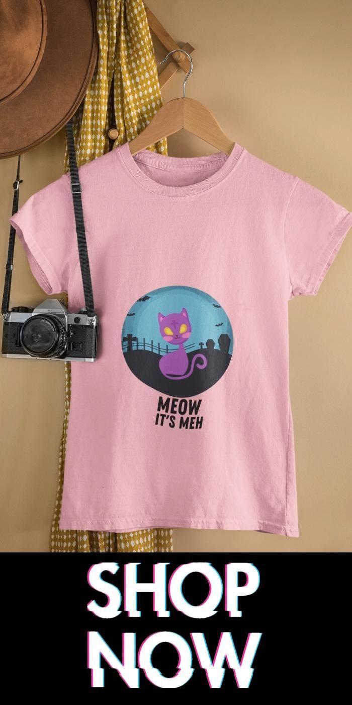 Halloween Cat women t-shirt