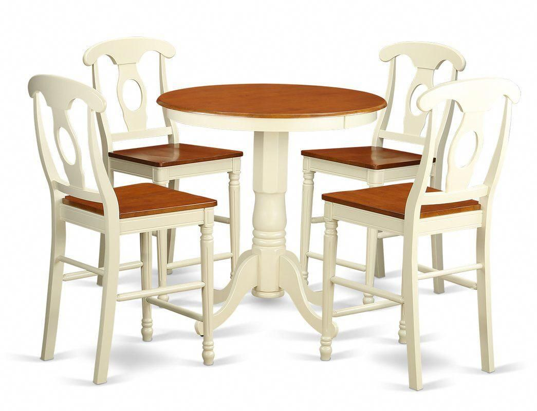 Eden 5 Piece Counter Height Pub Table Set pubchairs