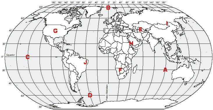 World Map Latitude And Longitude Worksheet Free Worksheets Library – Latitude and Longitude Worksheet