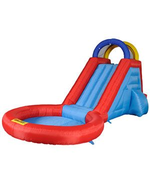 Waliki 'Extreme' Inflatable Water Slide