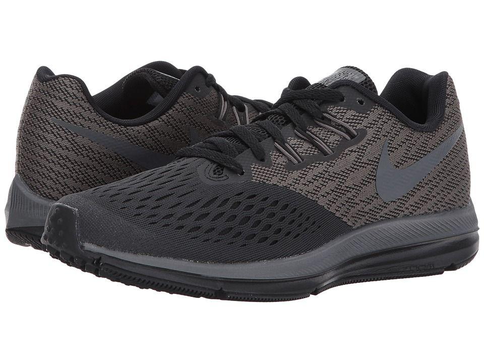 b2cc071cbf8eb Nike Air Zoom Winflo 4 (Anthracite Dark Grey Black) Women s Running Shoes