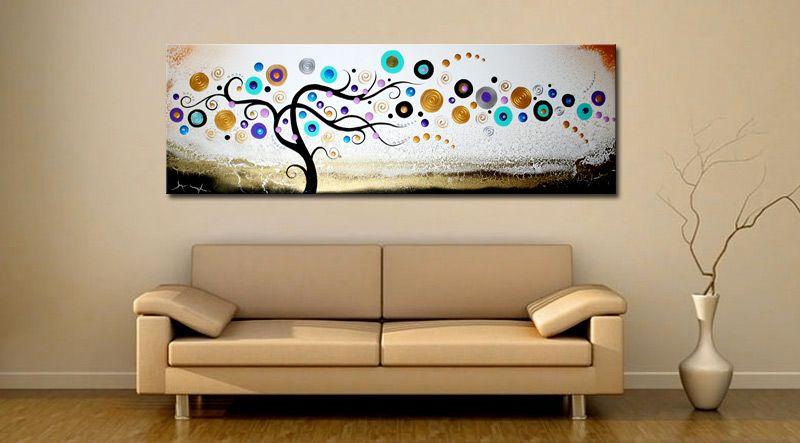 WANDDECORATIE MODERNE KUNST AAN DE MUUR wanddecoratie