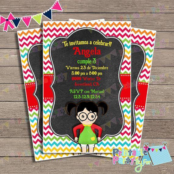 Invitations La Chilindrina Party Chavo Ocho 8 Invites
