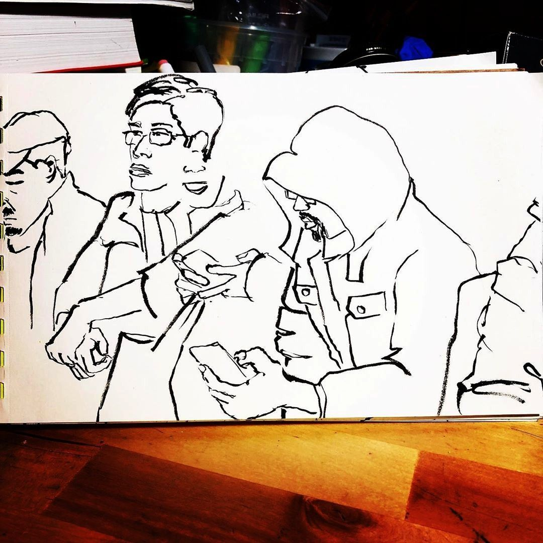 Observationaldrawing Nycurbansketchers Urbansketchers