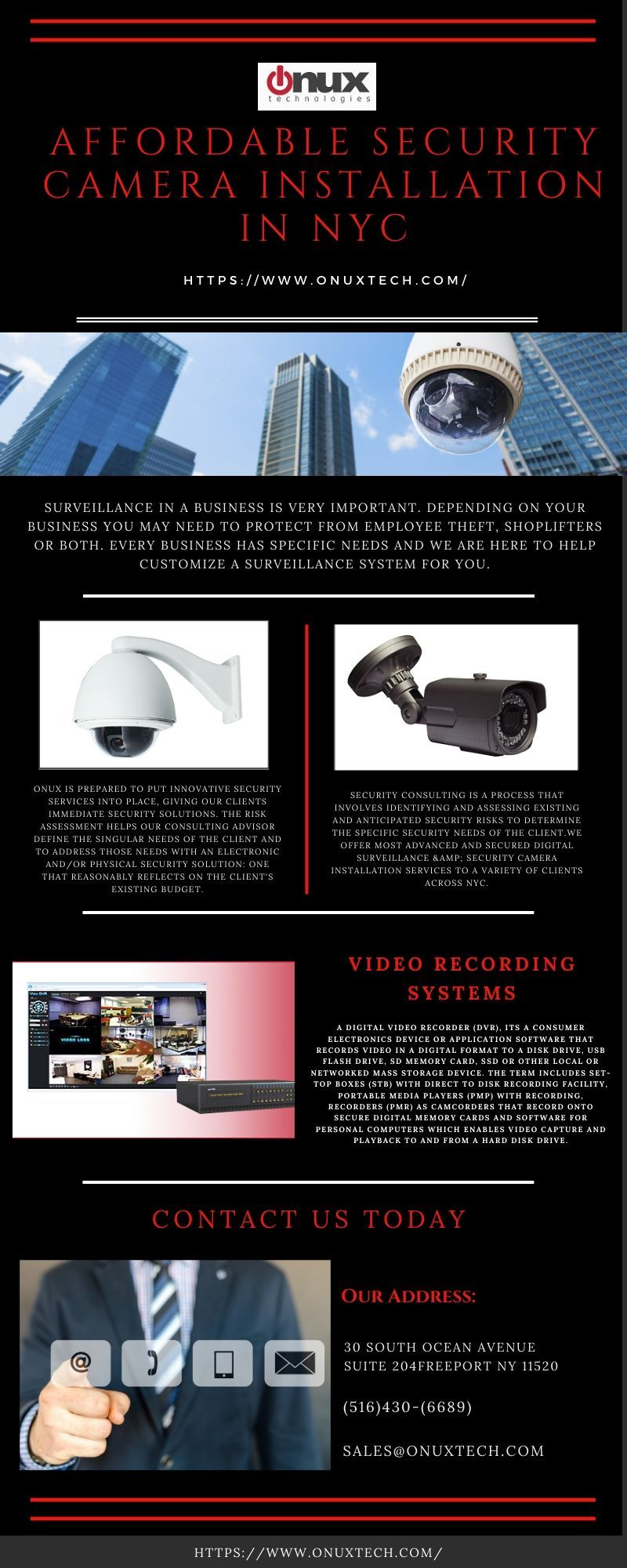Quality Security Camera Installation NYC Security camera