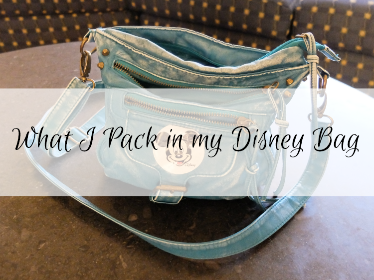 What I Pack in my Disney Bag