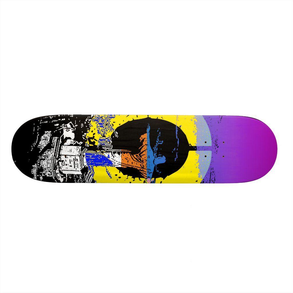 Rio Skateboard Deck Zazzle Com In 2020 Skateboard Decks Cool Skateboards Skateboard