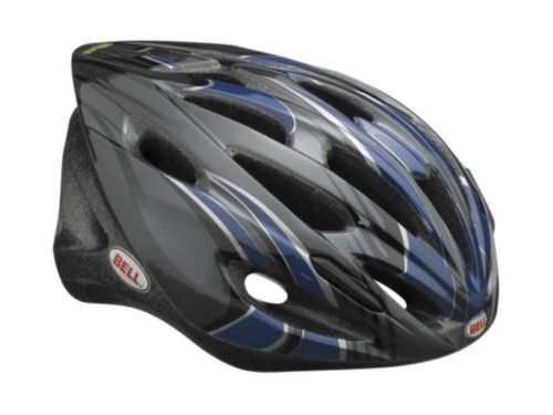 Bell Solar Blast Bike Helmet Blue Stripe Universal Adult Bell