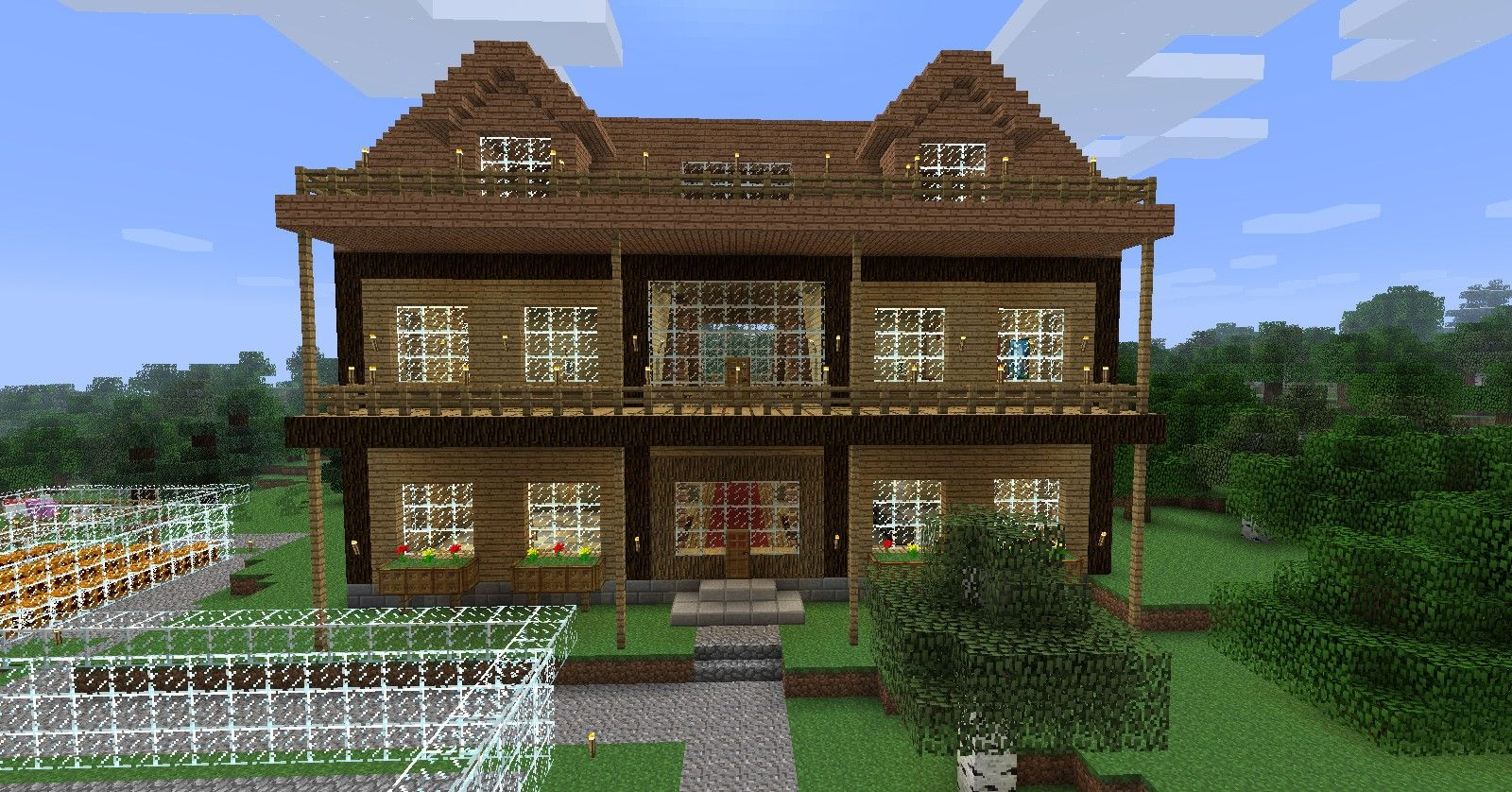 how to build a house in minecraft xbox 360
