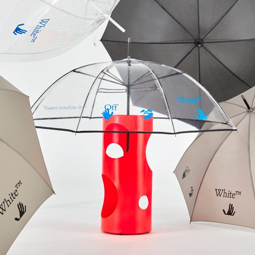 Virgil Abloh Designs Doormats Umbrellas And Slippers For Off White Home Collection
