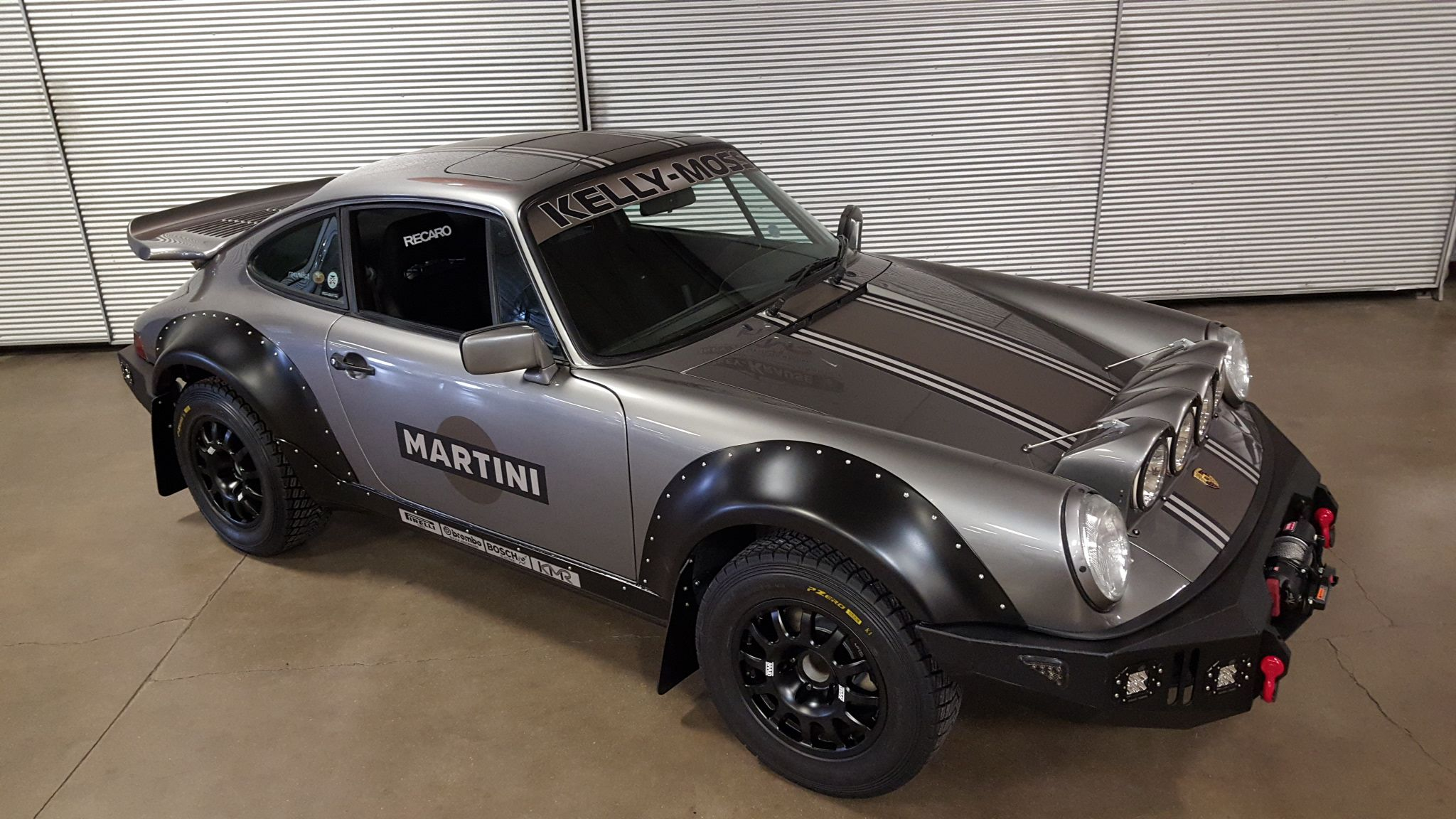 This Porsche 964 Carrera 4 Safari RS build by KMR redefines the