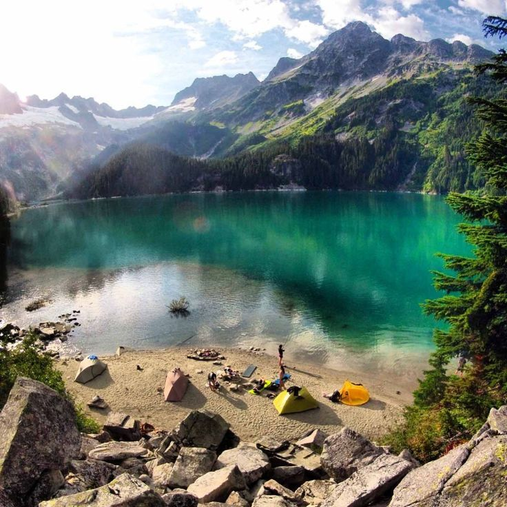 #CampingTip Location is key....Wow this looks like heaven ...
