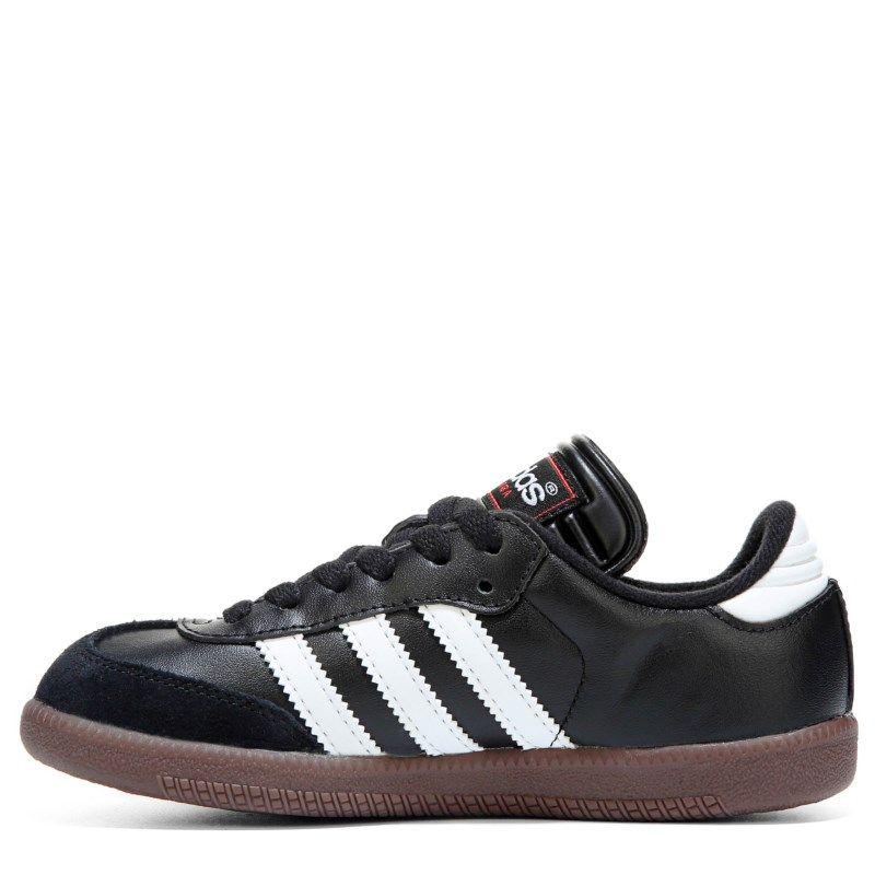 0fa658ddf5f23 Adidas Kids' Samba Classic J Sneaker Pre/Grade School Shoes (Black/White) -  11.5 M