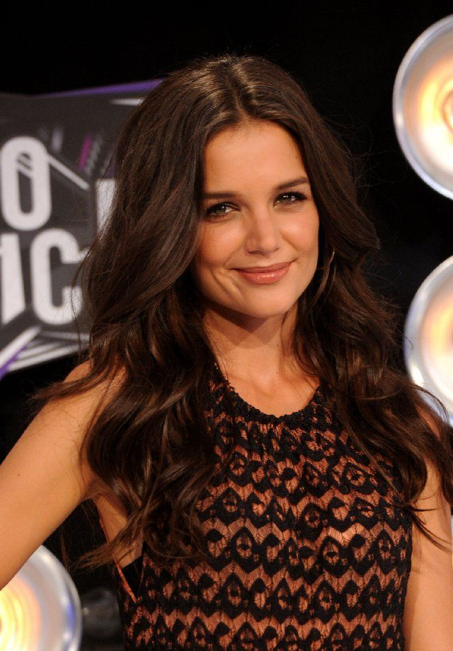 Katie Holmes Hair Perfection