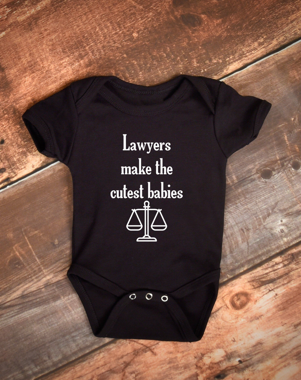 Lawyers Make The Cutest Babies Bodysuit