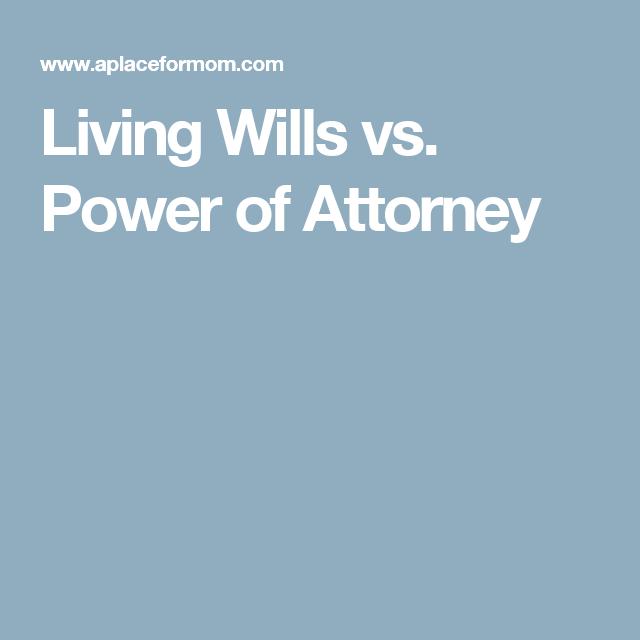 Wills Vs Power Of Attorney