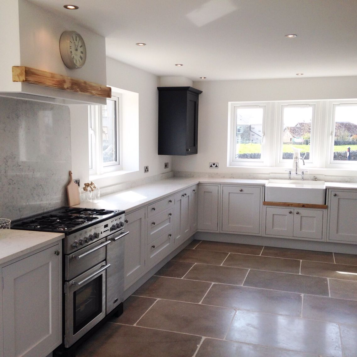 Painted In Frame Shaker kitchen which I designed and fitted. The ...