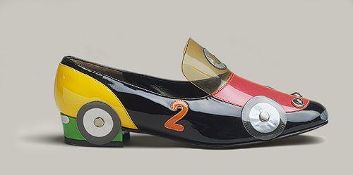 car shoe.  Katharina Denzinger for Herbert Levine, Inc. 1965.