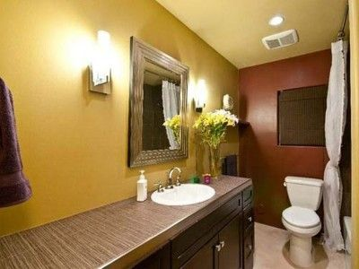 Yellow And Brown Color Bathroom Design Ideas Inspiration In Color Pinterest Bathroom