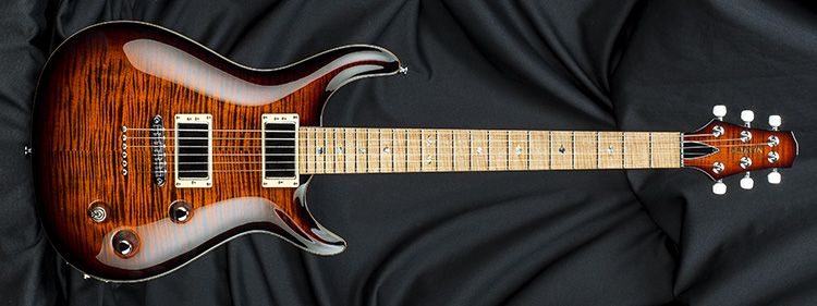 Carvin Guitars CT6M, deep orangeburst over quilted maple (QDO6
