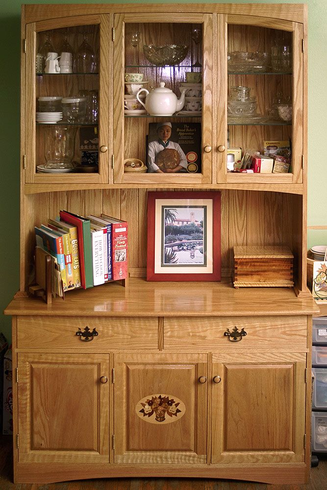 Genial Oak China Cabinet This Is One Of Those Never Ending Projects That Just  Keeps Growing