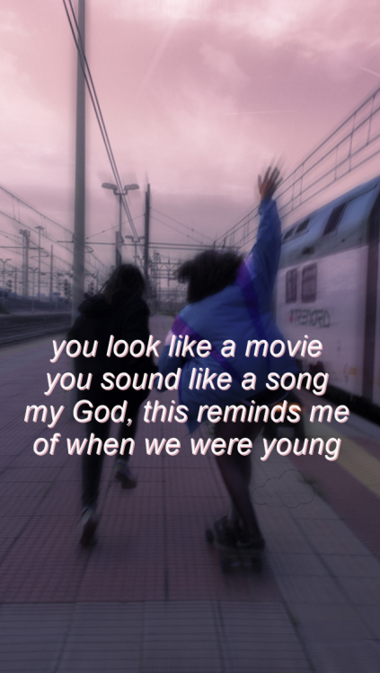 Adele We Were Young