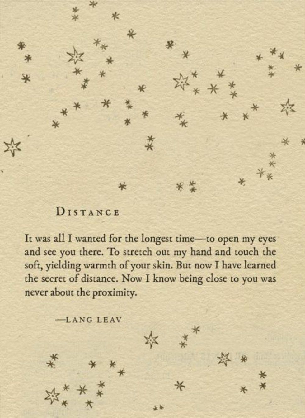 11 Poems By Lang Leav That Will Make You Want To Call Your Ex