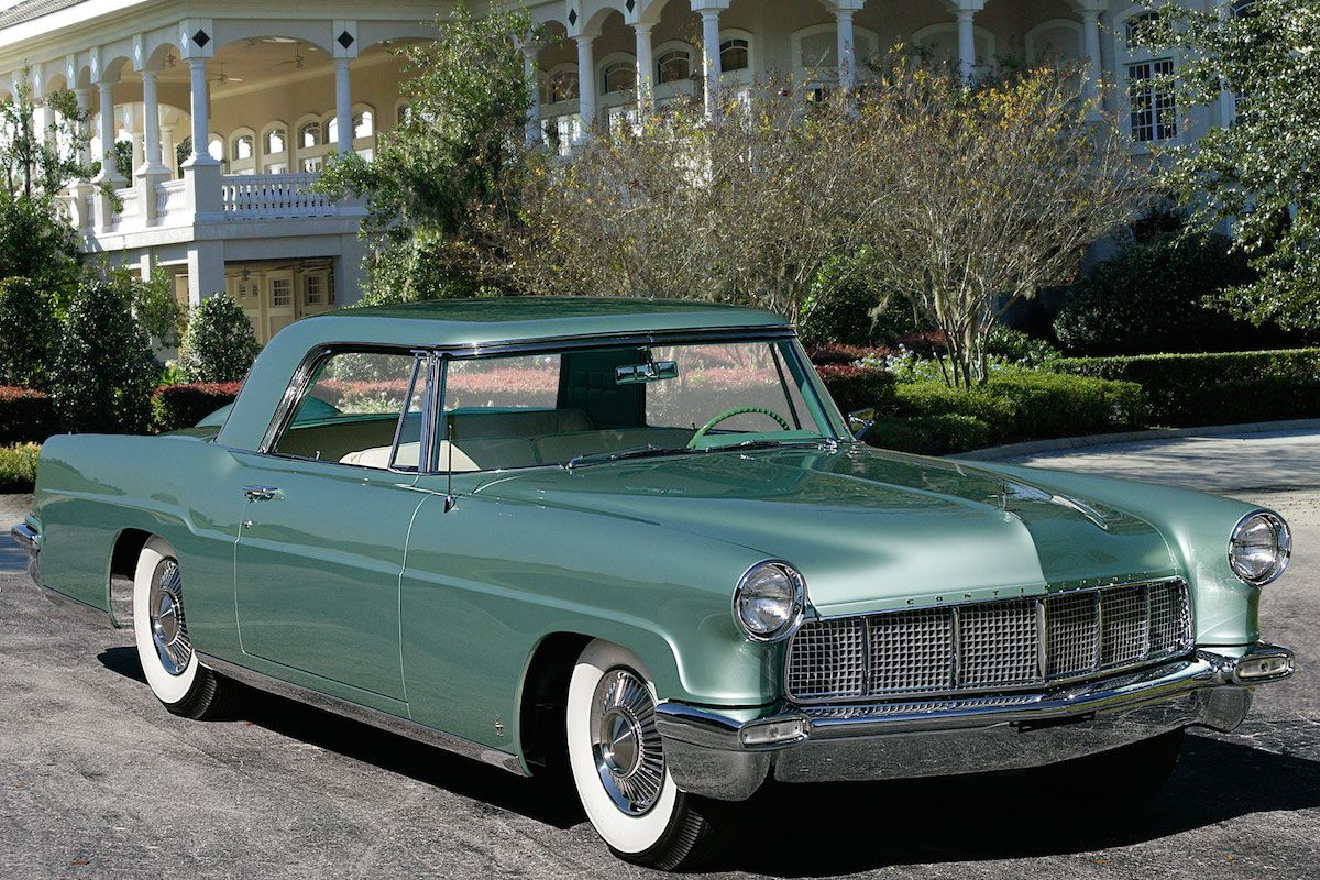 Continental Mark II In Green Lucite Metallic Ci V Ford Lincoln - Ford lincoln