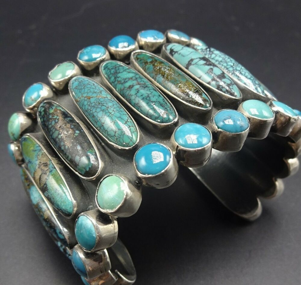 Federico Always Utilizes The Finest Natural Turquoise Available He Is Currently A Trustee O Silver Turquoise Jewelry Jewelry Bracelets Silver Silver Turquoise