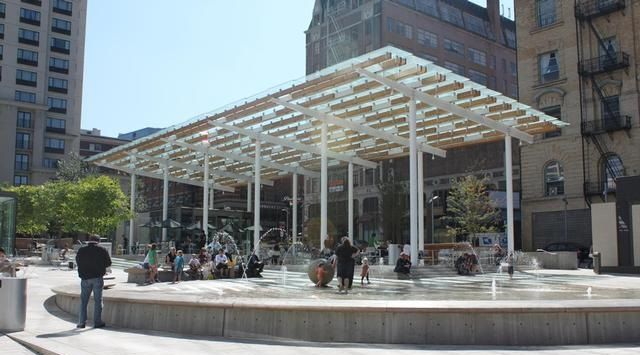 Director Park Portland Or A Great Urban Public Gathering Space