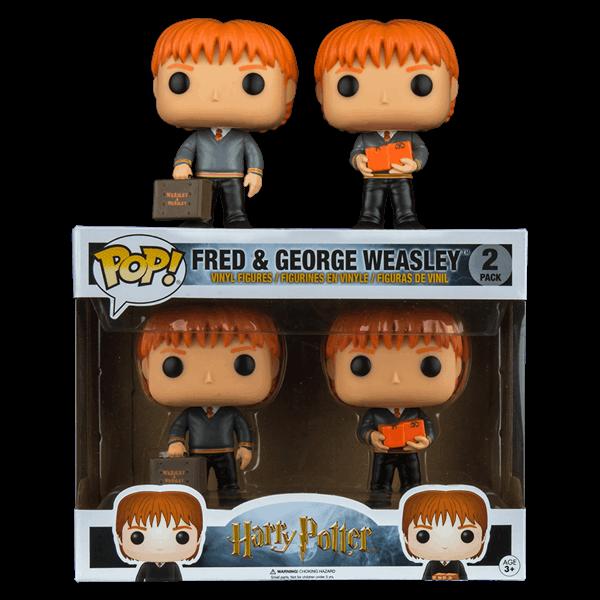 1fa6a586cbf Harry Potter - Fred   George Weasley Pop! Vinyl Figure 2 Pack - ZiNG Pop  Culture
