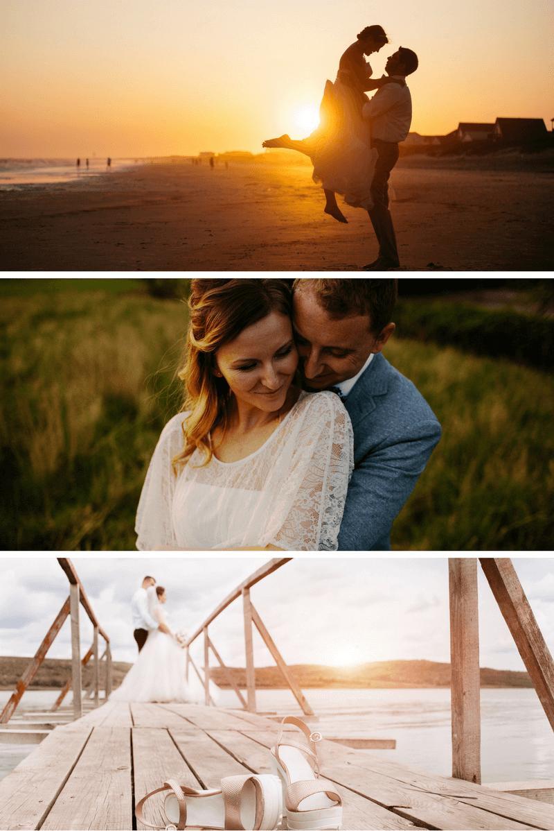 6 originelle Hochzeitsfoto-Ideen für das Brautpaarshooting