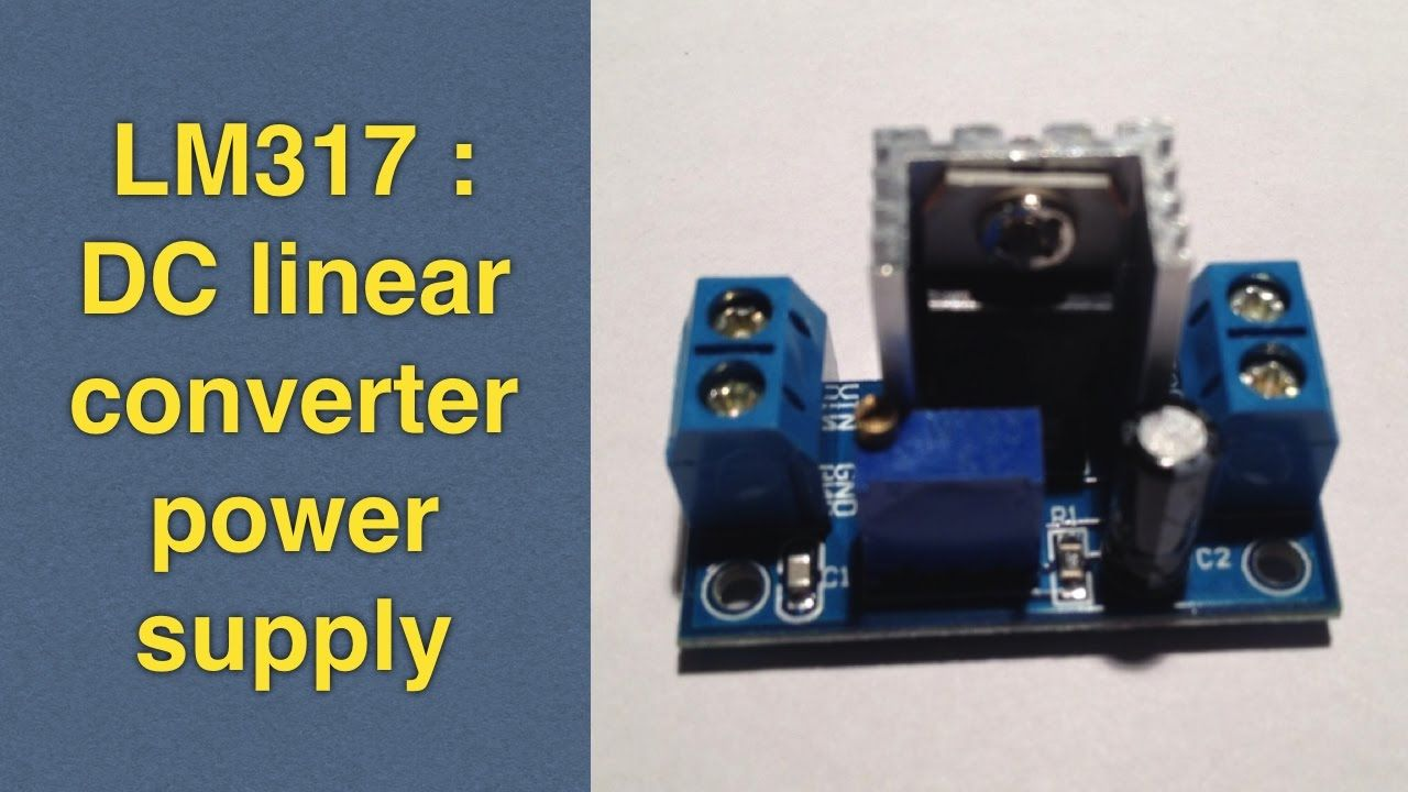 Lm317 Adjustable Voltage Regulator Power Supply 1 Home Wiring And Electrical Projects Book Diy Electronic