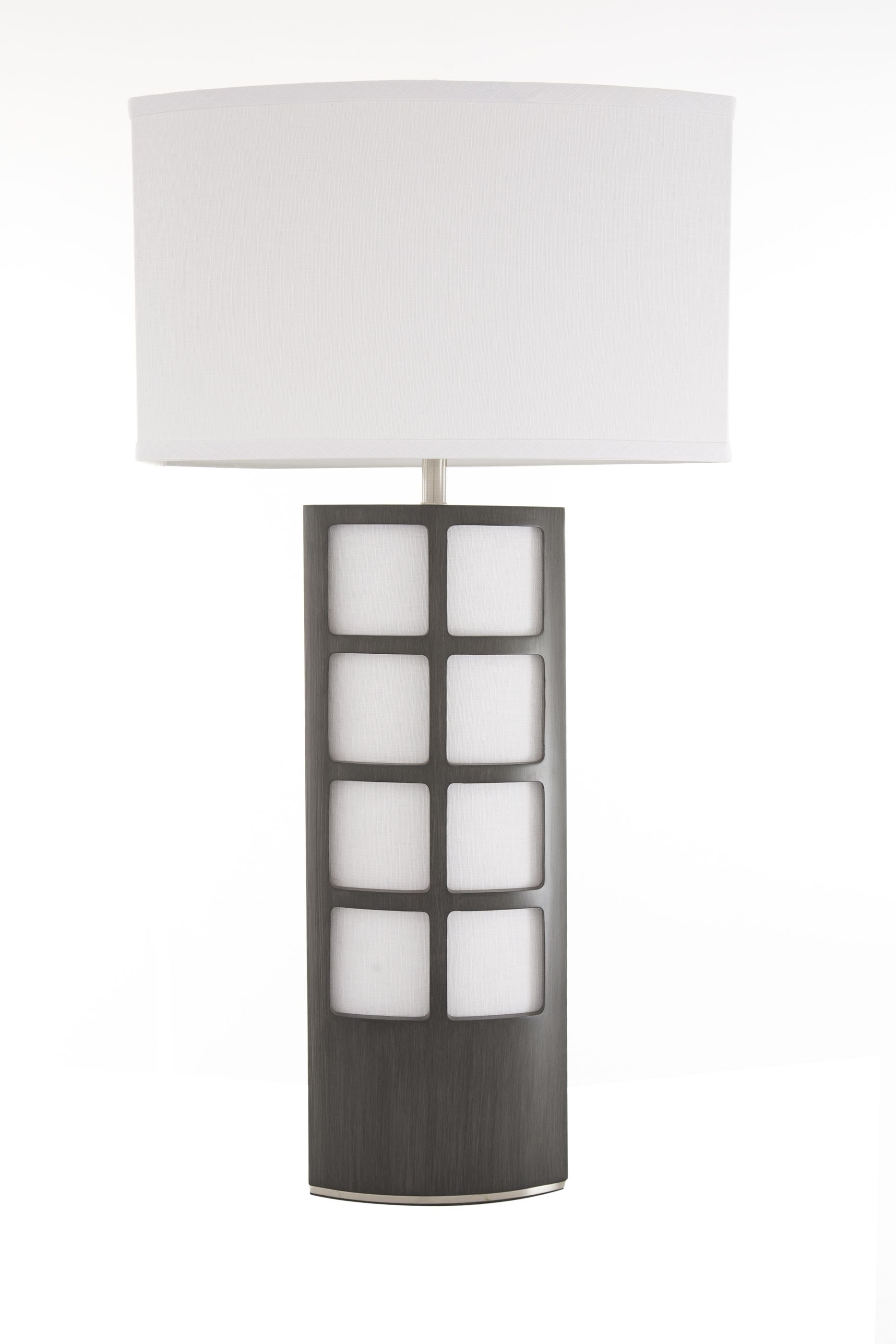 Open a window to fresh design with the Ventana Table Lamp from Nova