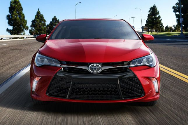 2016 Toyota Camry Facelift