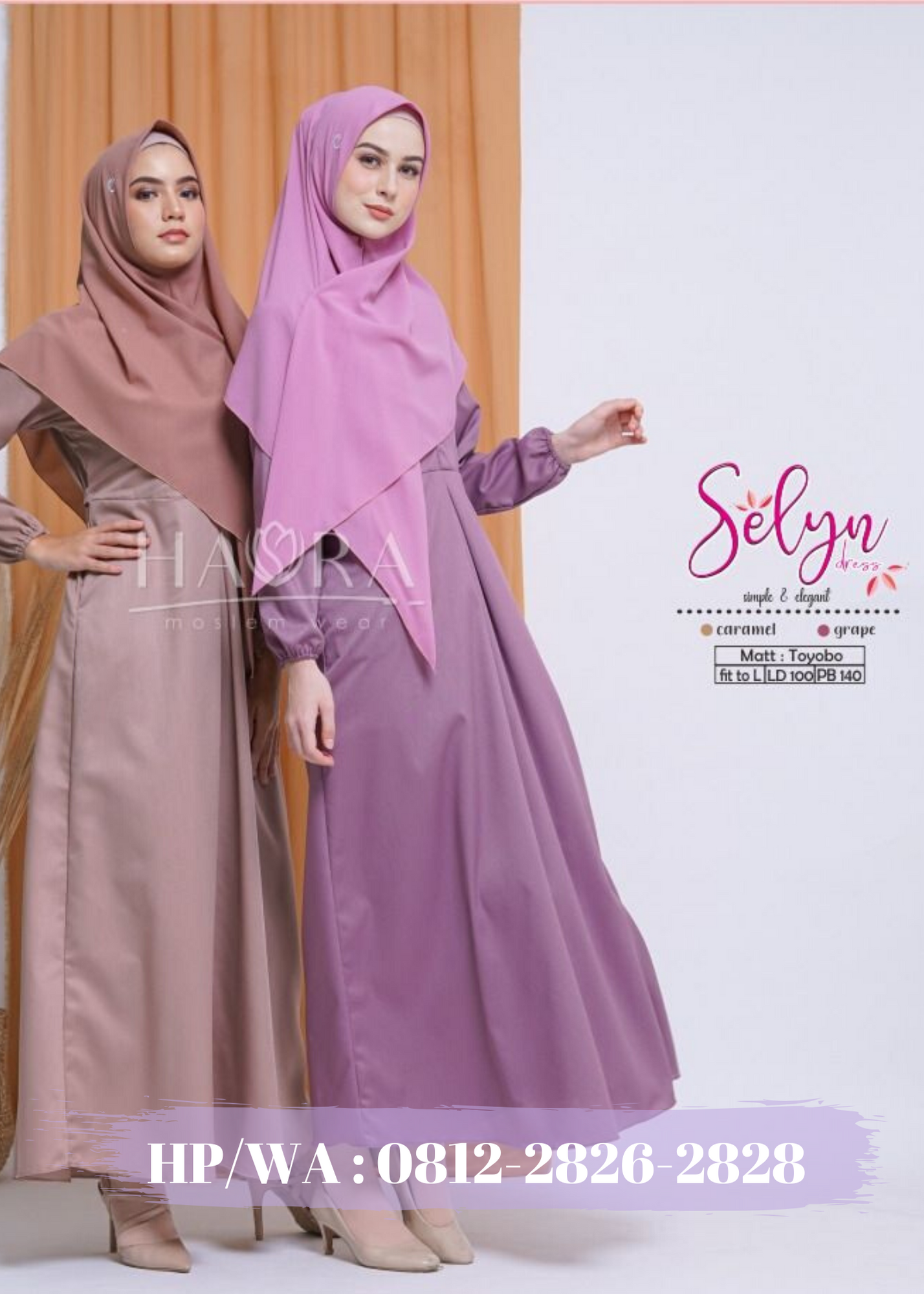 Produsen Gamis Tunik Hijab Madiun Grosir Kaftan Baju Lebaran Khimar Madiun Hijab Tunik Kaftan