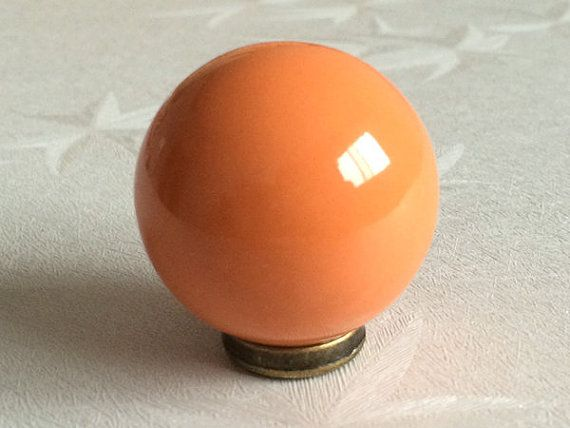 orange knobs kitchen cabinet knobs dresser knob drawer knobs pulls