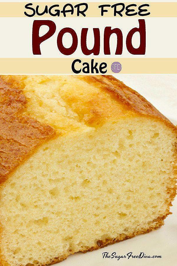How to Make Sugar Free Pound Cake - THE SUGAR FREE DIVA