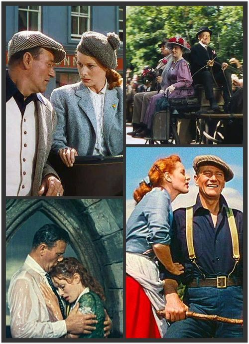 John Wayne And Maureen O Hara In The Quiet Man The Quiet Man John Wayne John Wayne Movies