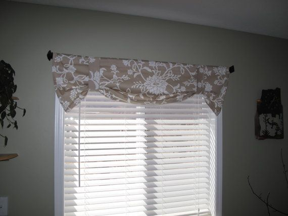 Simple Elegant x2 Contemporary window treatment valance curtain by Jules $50 00 Photos - Best of Contemporary Window Coverings For Your Plan