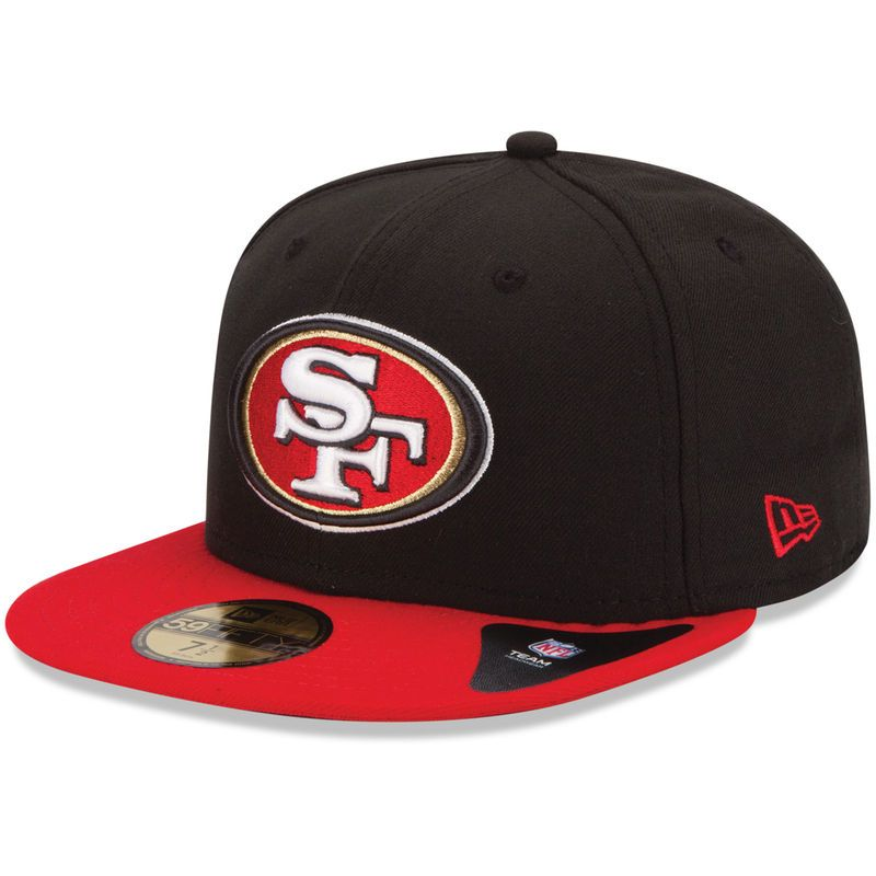 finest selection 87406 b9edd New Era San Francisco 49ers Two-Tone 59FIFTY Fitted Hat - Black Scarlet
