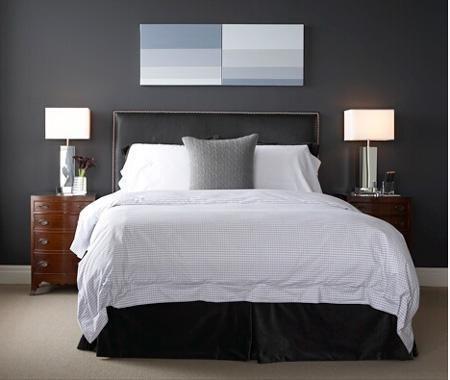 comment associer la couleur gris en dcoration - Peinture Gris Bleu Pour Chambre