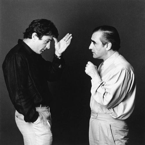 Robert De Niro & Martin Scorsese by Didier Olivré