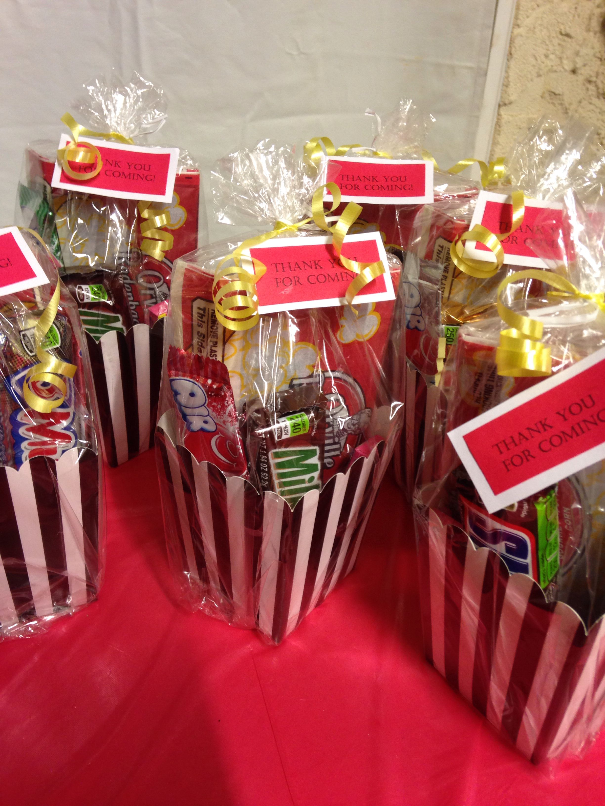 movie themed birthday party games