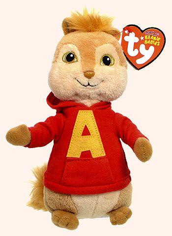 Alvin - chipmunk - Ty Beanie Babies  55c98a1b04b2
