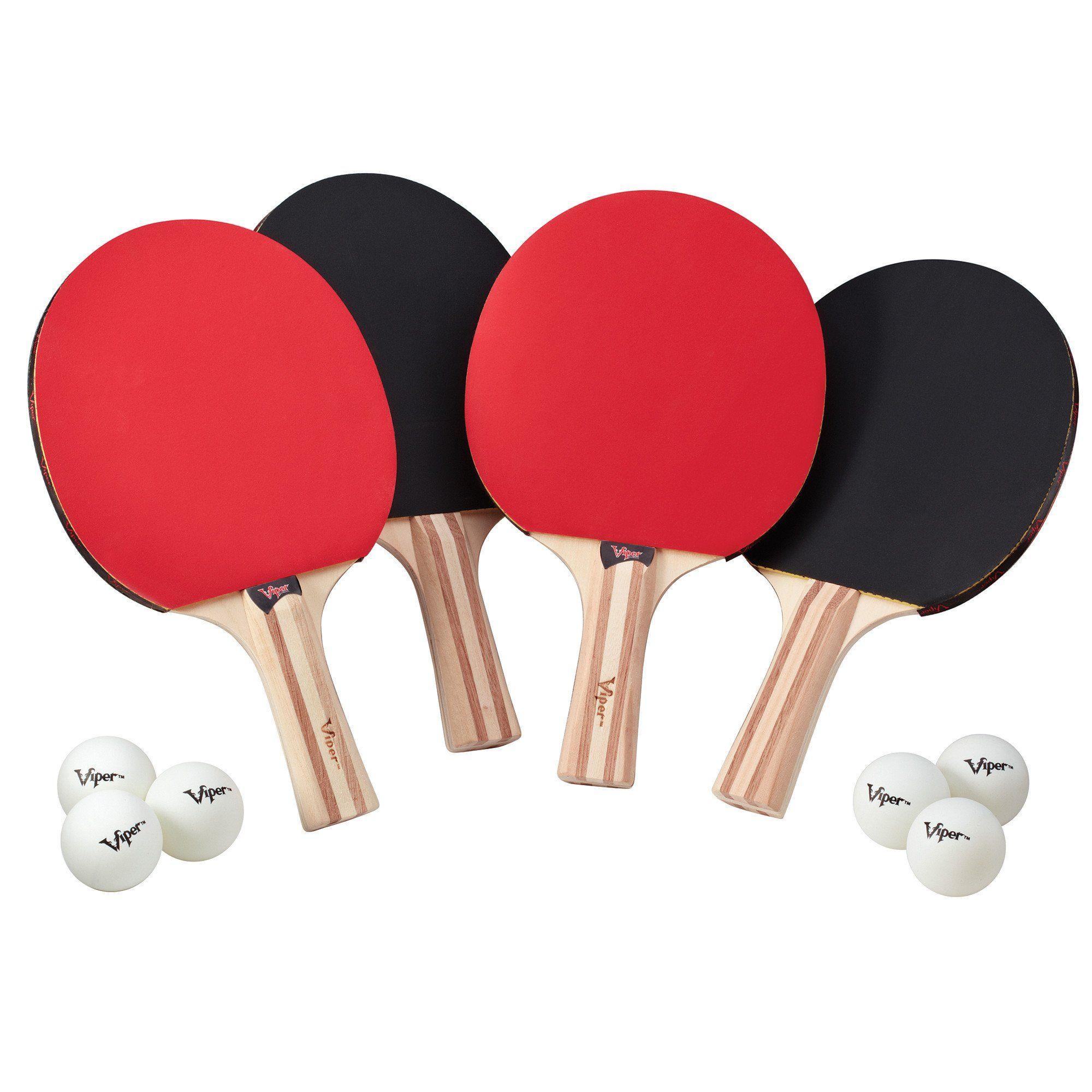 Viper Four Racket Table Tennis Set Table Tennis Set Table Tennis Racket Tennis Set