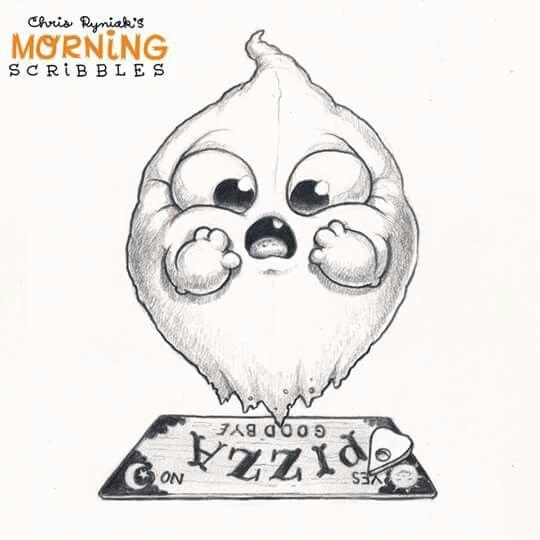 cute art chris ryniak morning scribbles cute and funny art