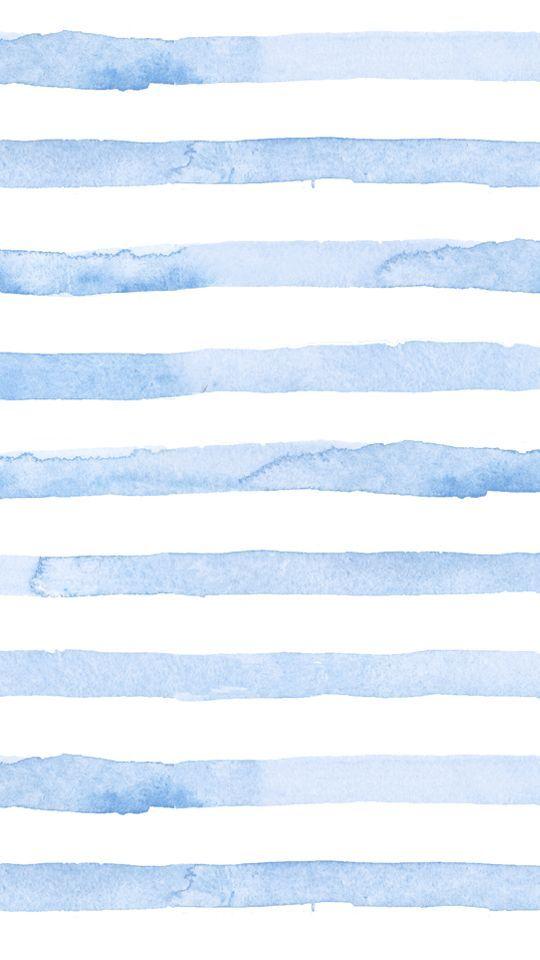Blue Watercolor Stripes Phone Wallpaper Seersucker Summer Blue Lockscreenwallpaper Watercolor Wallpaper Summer Wallpaper Blue Wallpapers Dusty blue watercolor background hd