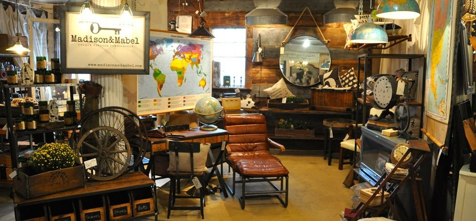 Industrial Vintage Furniture, Leather Chairs   Madison U0026 Mabel   Frederick,  Md
